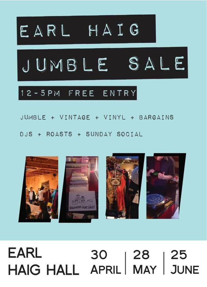 Earl Haig jumble flyer